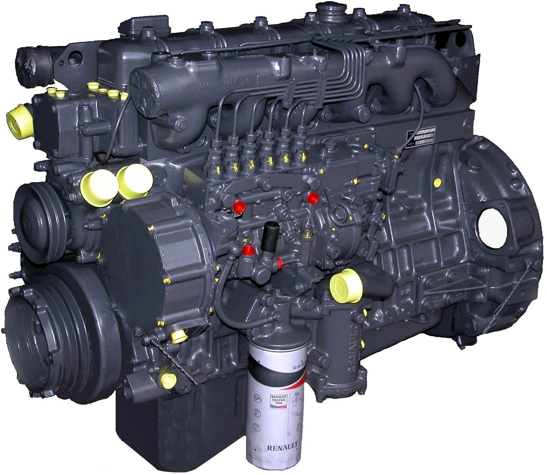 Moteur RENAULT - 623.56 MIDR A41-B41